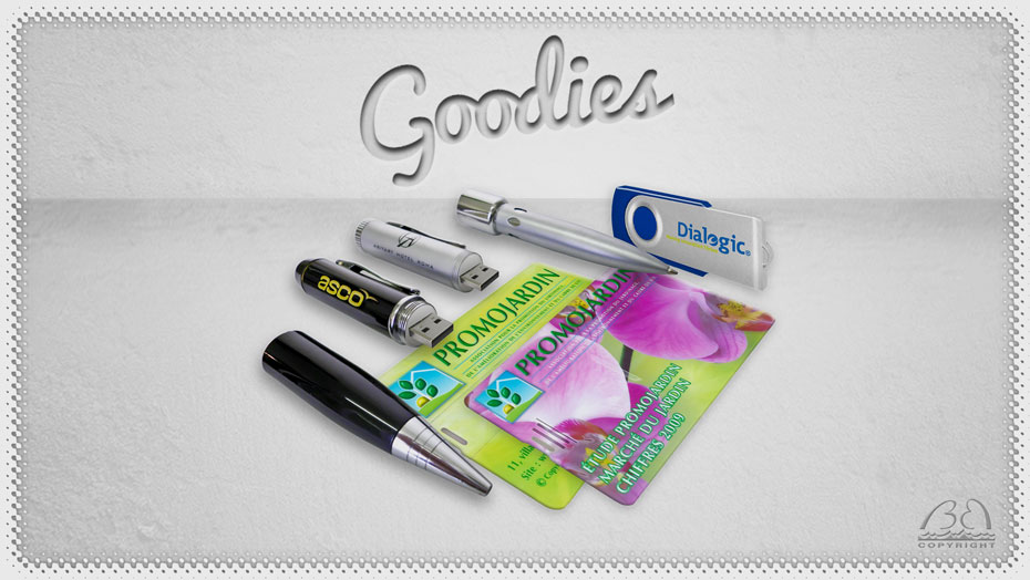 Goodies personnalisés